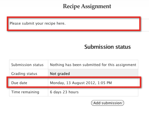 How to Submit Assignments in Moodle - YouTube
